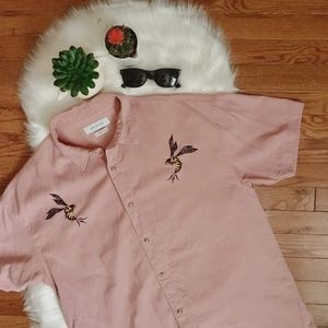 Urban Outfitters NWOT Bees Button up Size M